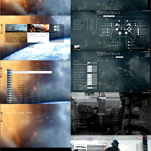 Battlefield 1 screenshot collage